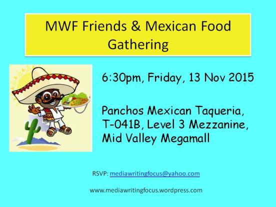 MWF Friends & Mexican Food Gathering