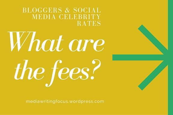 mwf blogger fees