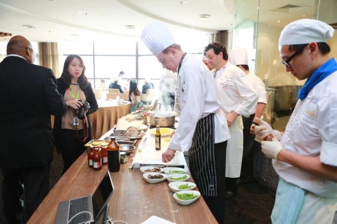 cookin demo by chef Jochen Kern from Berjaya University (2)
