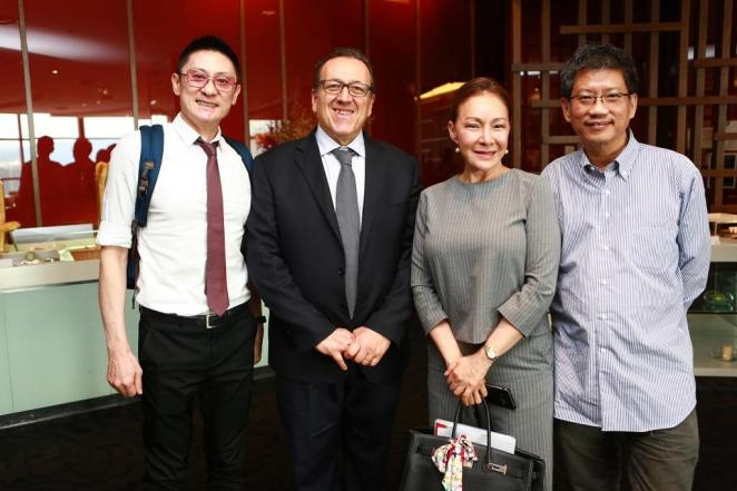 L to R -KC Lim (ALIVE Group), Riccardo Cozzo (bioagrico.op), Selina Gan (CEO Opika), Ong Kung Wai (OAM)